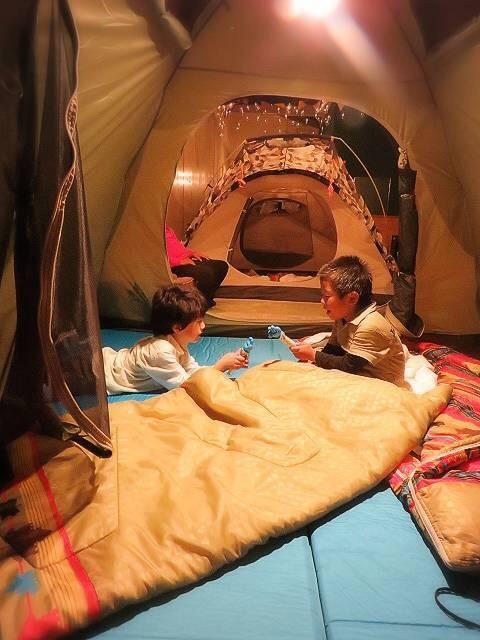 テント泊での楽しみ