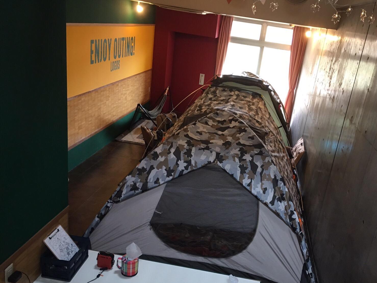 LOGOS LANDで『2ファミリールーム』体験‼
