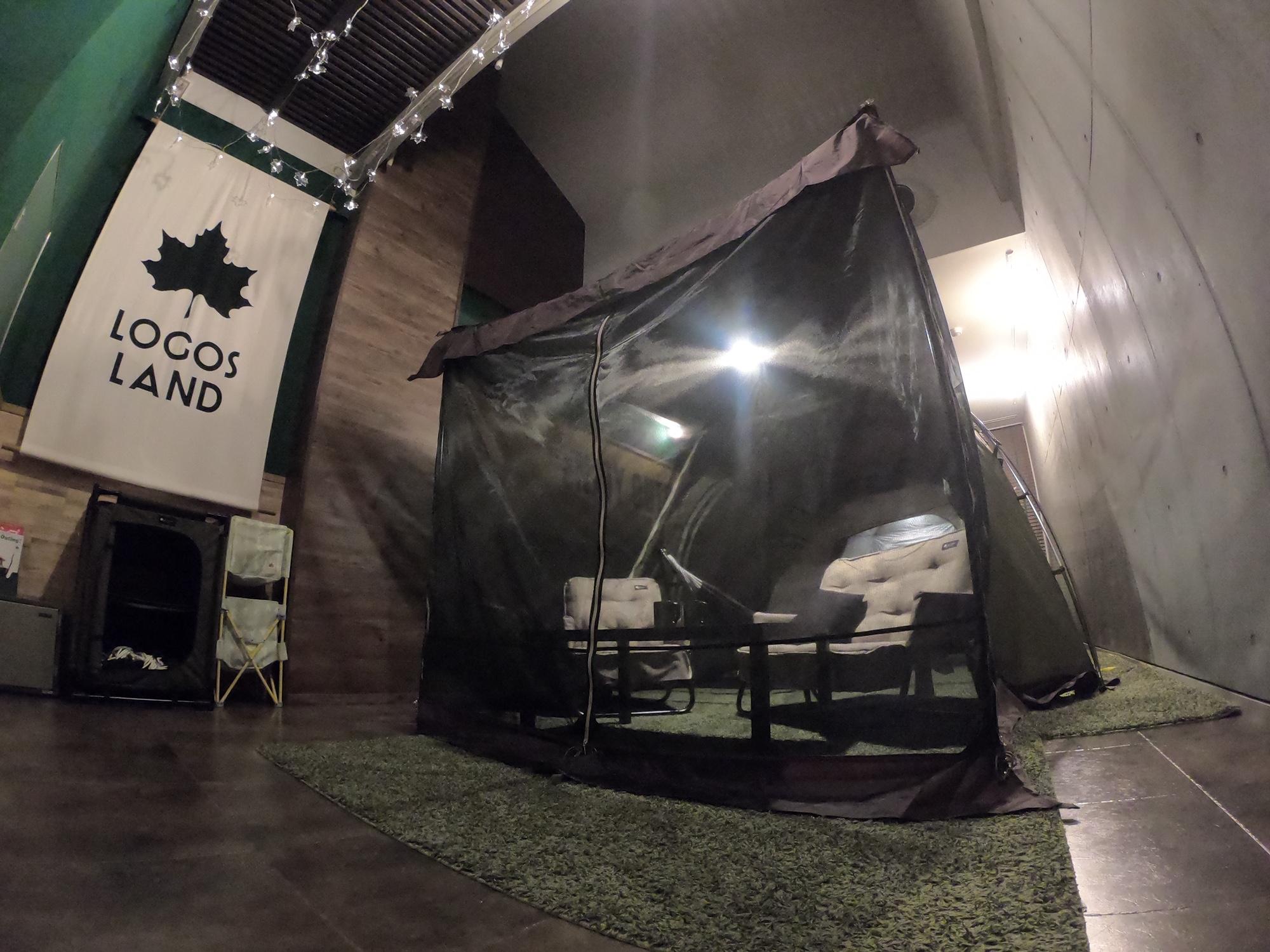 テント部屋リニューアル!